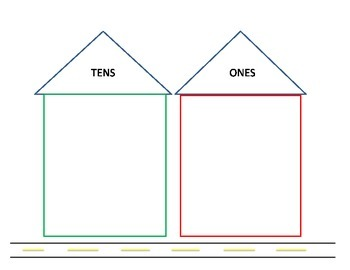 Place Value Houses To Tens By Class Is A Beach
