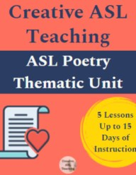 Poetry Unit - FULL Thematic Unit