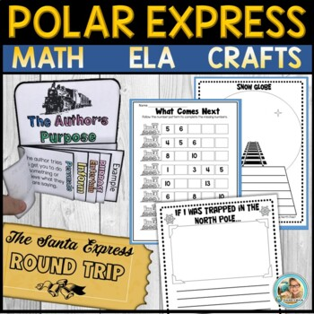 Polar Express Activities for Writing and Author's Purpose