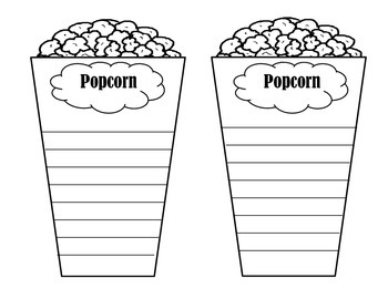 Popcorn Adjectives By Lisa Reitinger