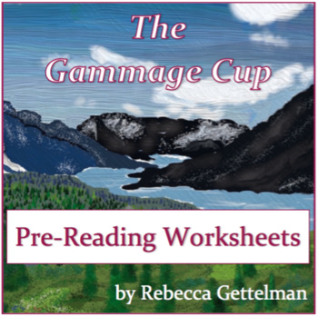 Pre Reading Worksheets and Activities for The Gammage Cup by Rebecca     Pre Reading Worksheets and Activities for The Gammage Cup