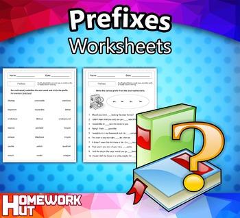 Prefixes Worksheets By Homework Hut