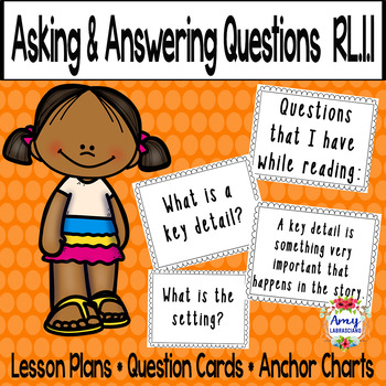 Asking and Answering Questions About Key Details RL.1.1 by ...