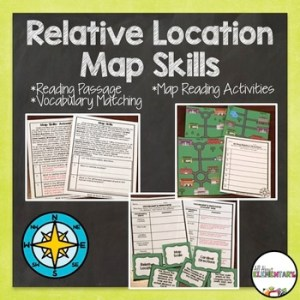 Map Scale  Cardinal Directions  Relative Location Teaching Resources     Relative Location Relative Location