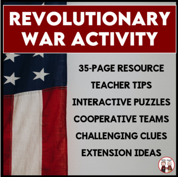 Revolutionary War Escape Room Activity