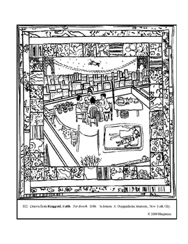 Ringgold, Faith. Tar Beach. Coloring page and lesson plan ...