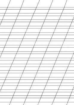 Russian Handwriting Worksheet Practice Прописи Три вида