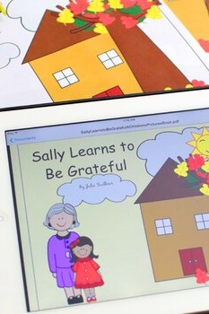 """Thanksgiving Bible Lesson """"Sally Learns to Be Grateful"""" Children's Story eBook"""