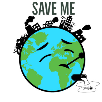 Save Me Save Earth Poster By Clipart Creationz Tpt