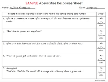 Semantic Absurdities By Speech Therapy With Courtney Gragg