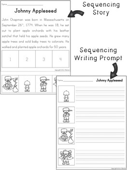 Sequencing Stories American History By Erin Thomson S