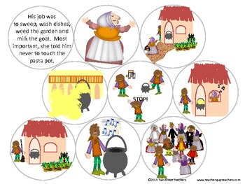 Sequencing Strega Nona By Two Great Teachers