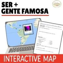 Ser De and Origin Online Interactive Map Activity - Click to download!