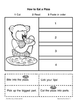 Short Story Sequencing Food By Evan Moor Educational