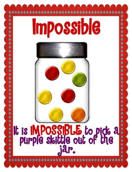 Skittles Probability Posters And Activity By Mrs Patton