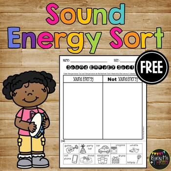 Sound Sort Forms Of Energy Worksheet K 1 2