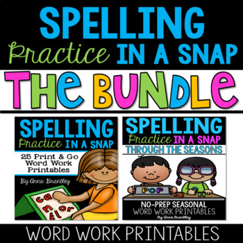 Spelling Practice in A Snap: Sight Word Practice