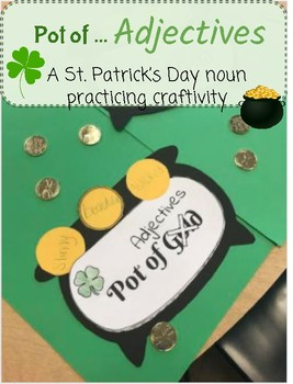 St  Patrick s Day Adjectives Teaching Resources   Teachers Pay Teachers St  Patrick s Day Adjective Craftivity St  Patrick s Day Adjective  Craftivity