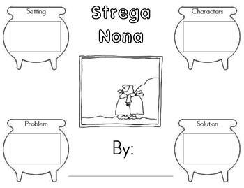Strega Nona Story Map By Amy Larson