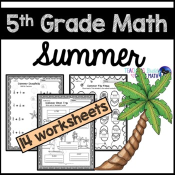 Summer Math Worksheets For 5th Grade | Mysummerjpg.com