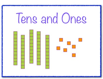 Tens and Ones Common Core Aligned Worksheets for first