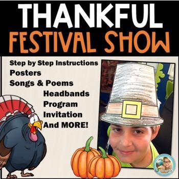 School Plays for Children - Thanksgiving Activities