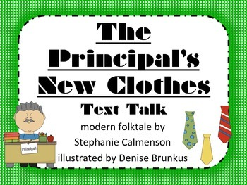 The Principal's New Clothes Text Talk Supplemental ...