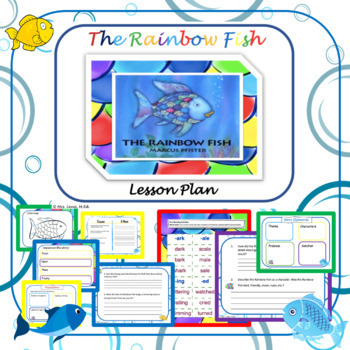 The Rainbow Fish Lesson Plan -2nd Grade-Language Arts by ...
