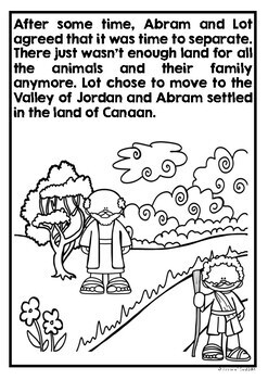 abraham and sarah coloring pages # 21