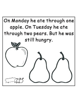 the very hungry caterpillar text # 7