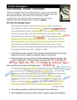 to kill a mockingbird timeline