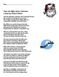from - Twas The Night Before Christmas Funny