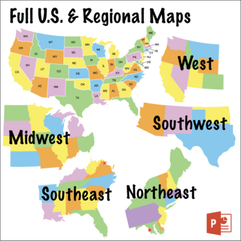 Chat abbreviations are acronyms and slang terms used to shorten the amount of text you type when chatting online or on a cellphone. U S Map Puzzles Regions States Capitals And Abbreviations Powerpoint