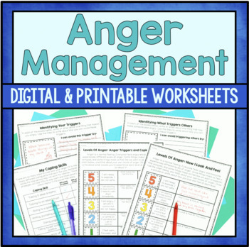 Understanding Anger Activities By Counselorchelsey