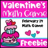 Free Valentine's Day: Valentine's Day Math Game