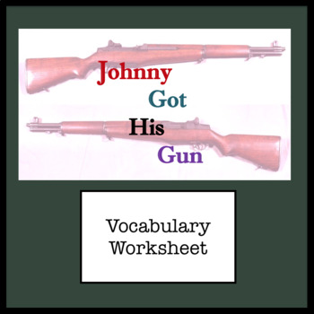 Vocabulary From Johnny Got His Gun