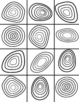 Wassily Kandinsky Coloring Sheet Word Search Worksheet TpT