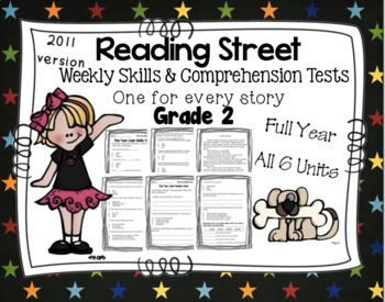 Weekly Skills Vocabulary And Comprehension Tests