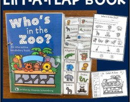 Who's in the Zoo? An interactive & adaptive book