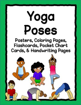 photograph about Printable Yoga Cards named Cost-free Yoga Poses Printable