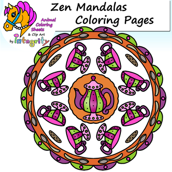 Zen Coloring Sheets Worksheets Teaching Resources Tpt
