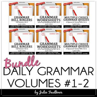 Daily Grammar Program FULL YEAR Bundle, 36 Weeks