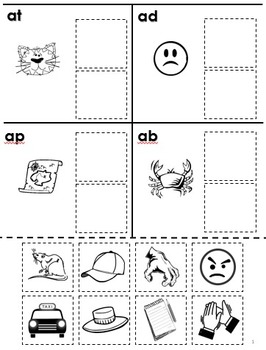 Free Rhyming Cut and Paste for Phonological... by Tchrgrl ...