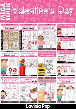 Valentine's Day MEGA BUNDLE SAMPLER