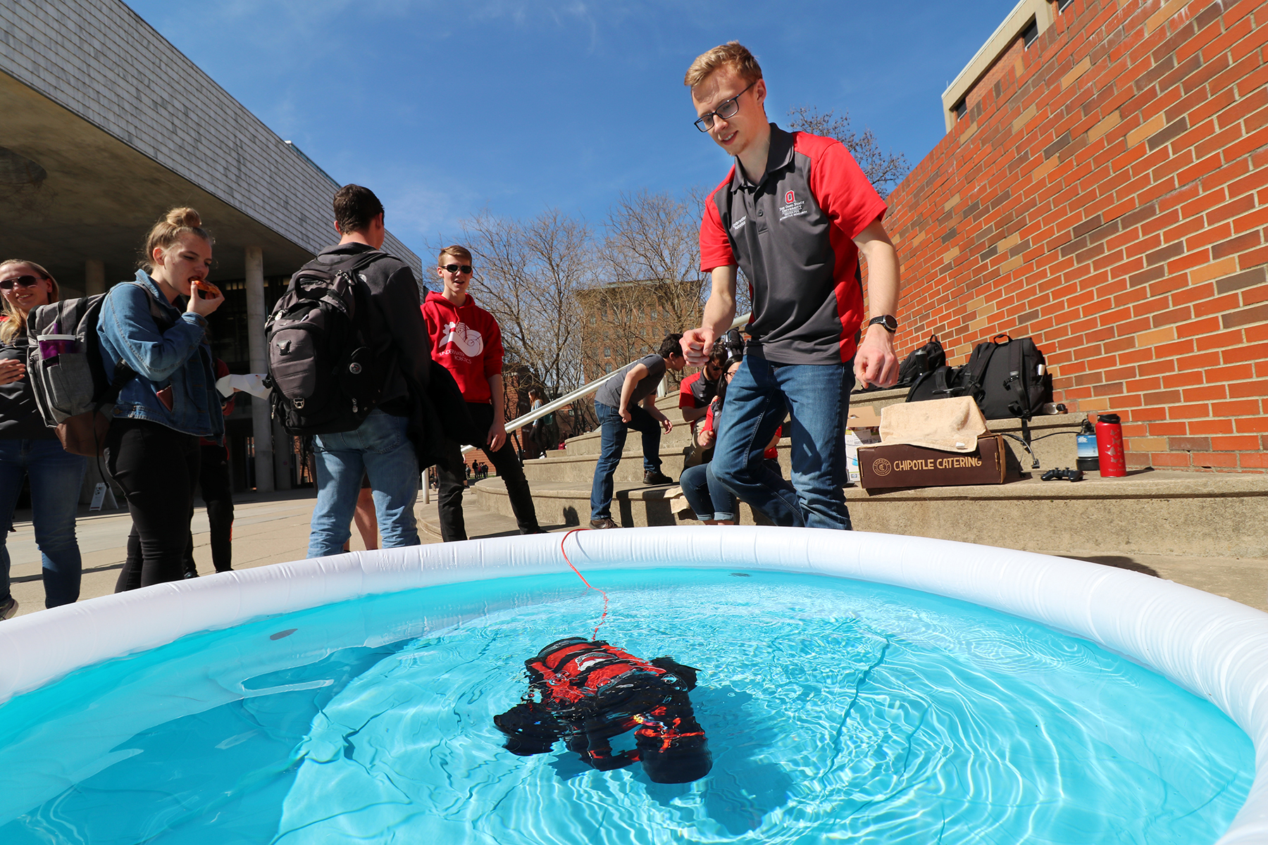 Ohio State Underwater Robotics Team Heading To Robosub