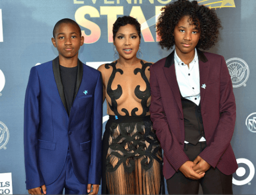 Toni braxton father new wife