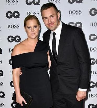Amy Schumer with her ex-boyfriend Ben Hanisch