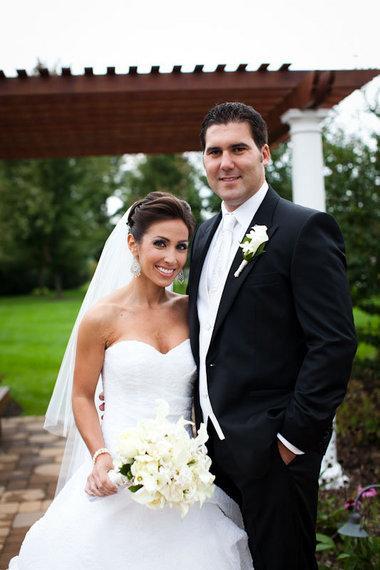 Lauren Simonetti With her husband Mark Cubrilo