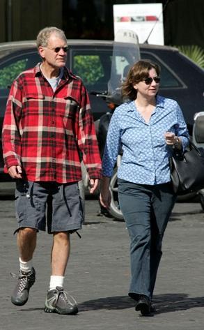 Regina Lasko and her husband David Letterman