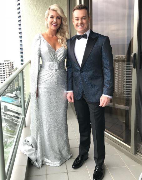 Grant Denyer wife, partner